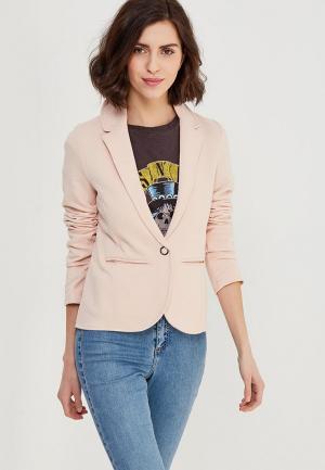 Пиджак Only. Цвет: розовый