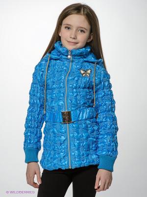 Куртка MES AMI. Цвет: синий