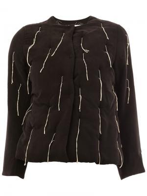 Куртка  Warden Toogood. Цвет: чёрный