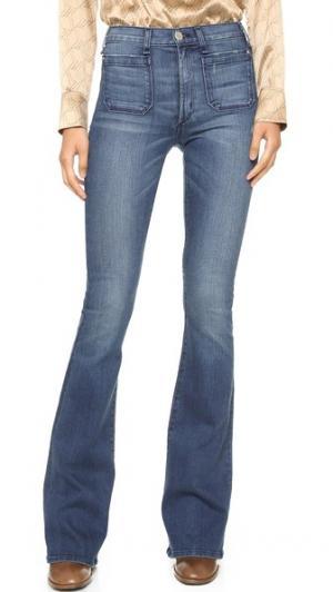 Расклешенные джинсы Principle со средней посадкой McGuire Denim. Цвет: kings road
