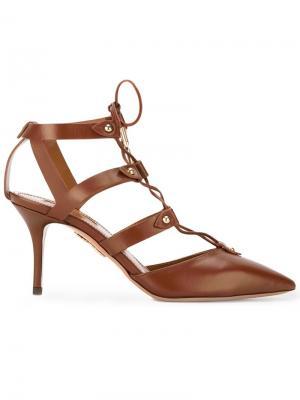 Туфли Bal Air Aquazzura. Цвет: коричневый