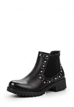 Ботинки Lovery. Цвет: черный