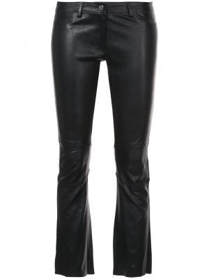 Укороченные брюки Sylvie Schimmel. Цвет: чёрный