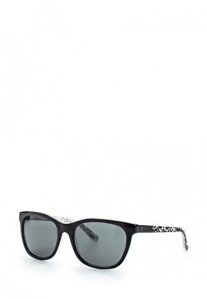 Очки солнцезащитные DKNY. Цвет: разноцветный