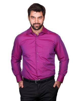 Рубашка BERTHIER. Цвет: сиреневый