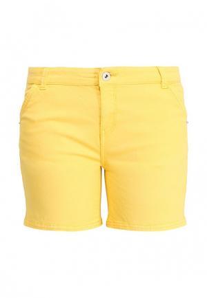 Шорты джинсовые Motivi. Цвет: желтый