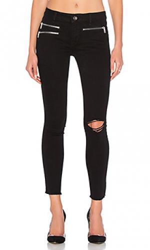 Узкие джинсы с карманами на молнии no. 3 instasculpt DL1961. Цвет: none