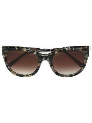 Солнцезащитные очки Dirtymindy Thierry Lasry. Цвет: серый