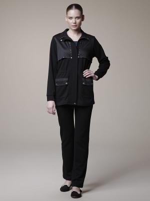 Спортивный костюм тройка RELAX MODE. Цвет: черный