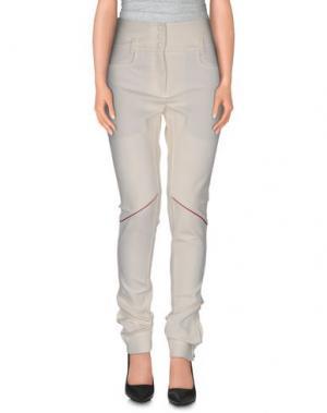 Повседневные брюки BALLY. Цвет: слоновая кость