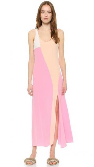 Платье без рукавов Cedric Charlier. Цвет: розовый