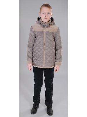 Куртка Милашка Сьюзи. Цвет: бежевый