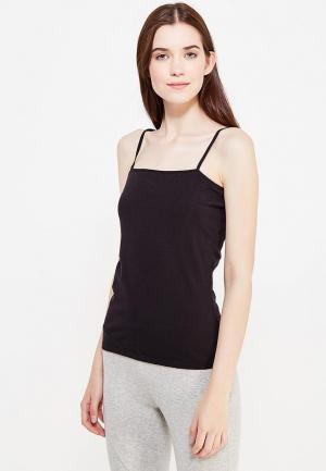 Рубашка домашняя Alla Buone. Цвет: черный