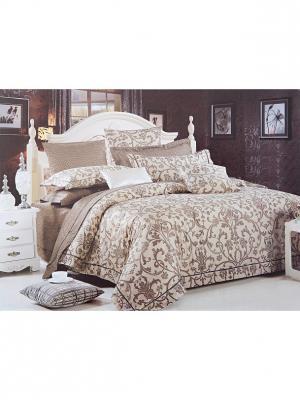 Комплект постельного белья ROMEO AND JULIET. Цвет: светло-коричневый, бежевый