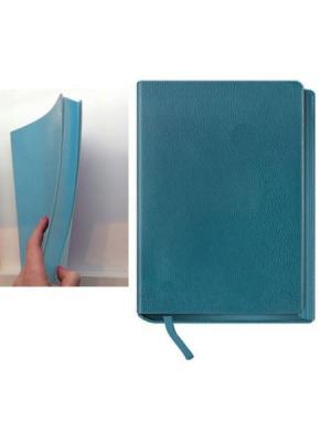 Ежедневник недатированный, кожзам, цветной рез, А5, бирюзовый, El Color, 288л Maestro de Tiempo. Цвет: бирюзовый