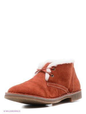 Ботинки Calipso. Цвет: оранжевый