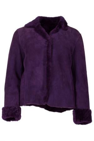 Дубленка SUMMIT. Цвет: фиолетовый