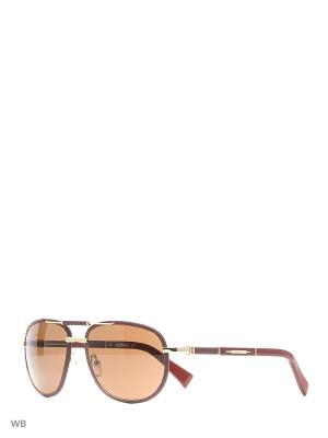 Солнцезащитные очки BLD 1623 101 Baldinini. Цвет: малиновый, золотистый