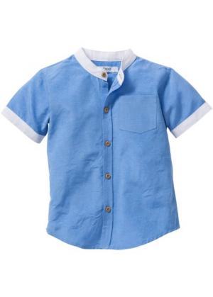 Рубашка, Размеры  80/86-128/134 (голубой) bonprix. Цвет: голубой