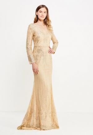 Платье Soky & Soka. Цвет: золотой