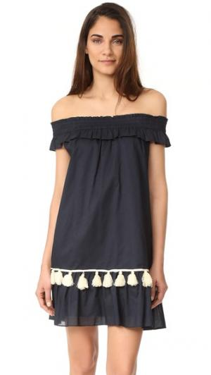 Платье Gia MISA. Цвет: темно-синий