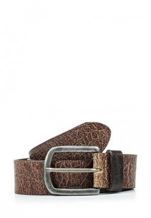 Ремень Wrangler. Цвет: коричневый