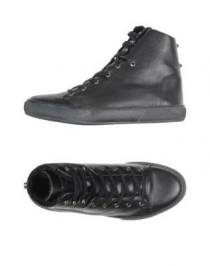 Высокие кеды и кроссовки JUDARI. Цвет: черный