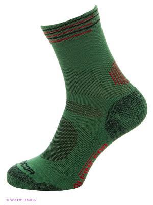 Носки Alpine PRO. Цвет: зеленый