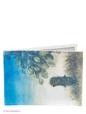 Обложка для студенческого Mitya Veselkov. Цвет: синий, серый, белый