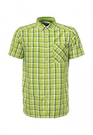 Рубашка Regatta. Цвет: зеленый