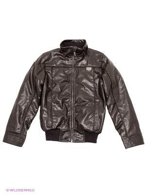 Куртка S`Cool. Цвет: коричневый