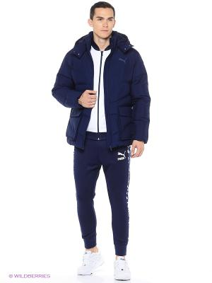 Куртка ESS Hd Bulky Jacket Puma. Цвет: синий