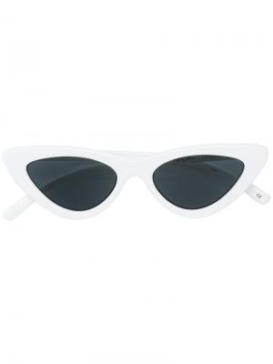Солнцезащитные очки  Last Lolita Le Specs. Цвет: белый