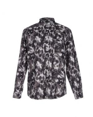Джинсовая рубашка CHEAP MONDAY. Цвет: стальной серый