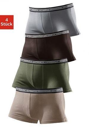 Боксеры, Authentic Underwear Le Jogger (4 пары). Цвет: набор 1
