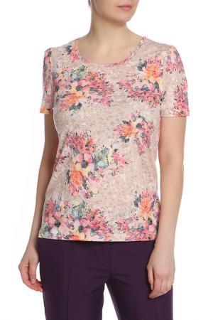 Блуза LOLA PALTINGER. Цвет: серо-коричневый