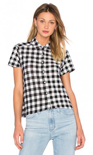 Рубашка с застёжкой на пуговицах free bird A Fine Line. Цвет: black & white