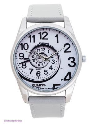 Часы Mitya Veselkov. Цвет: серый