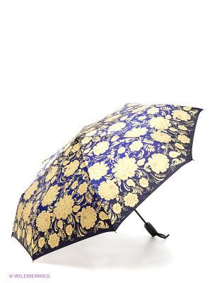 Зонт RAINDROPS. Цвет: синий, желтый