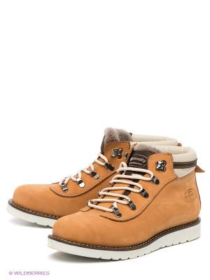 Ботинки FRIENDLY. Цвет: светло-коричневый