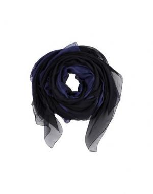 Шаль GIORGIO ARMANI. Цвет: темно-синий