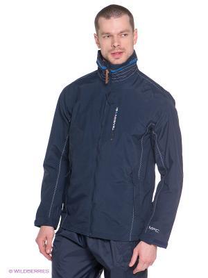 Куртки Tenson. Цвет: синий