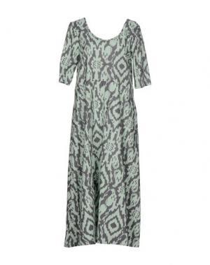 Длинное платье LA FABRIQUE. Цвет: светло-зеленый