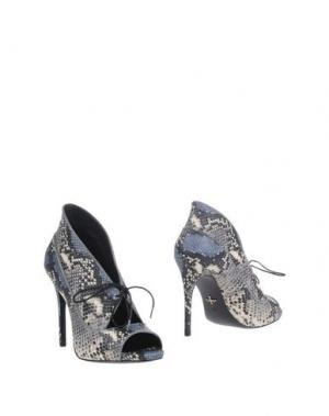 Ботинки POUR LA VICTOIRE. Цвет: стальной серый
