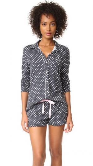 Пижама City Of Love PJ Salvage. Цвет: дымчато-серый