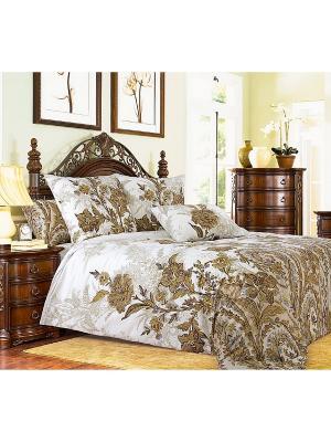 Комплект постельного белья 2.0 сп. Dream time. Цвет: коричневый