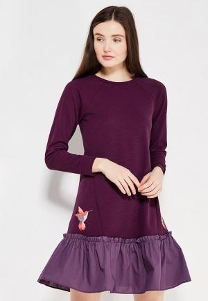 Платье Fashion.Love.Story. Цвет: фиолетовый