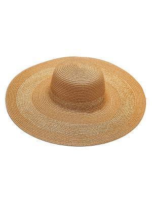 Шляпа Kameo-bis. Цвет: коричневый, бежевый