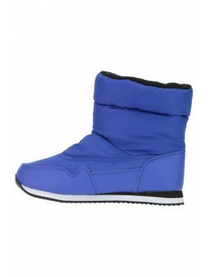 Дутики Baon. Цвет: синий