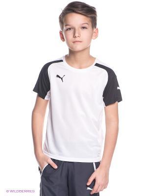 Футболка Puma. Цвет: белый, черный